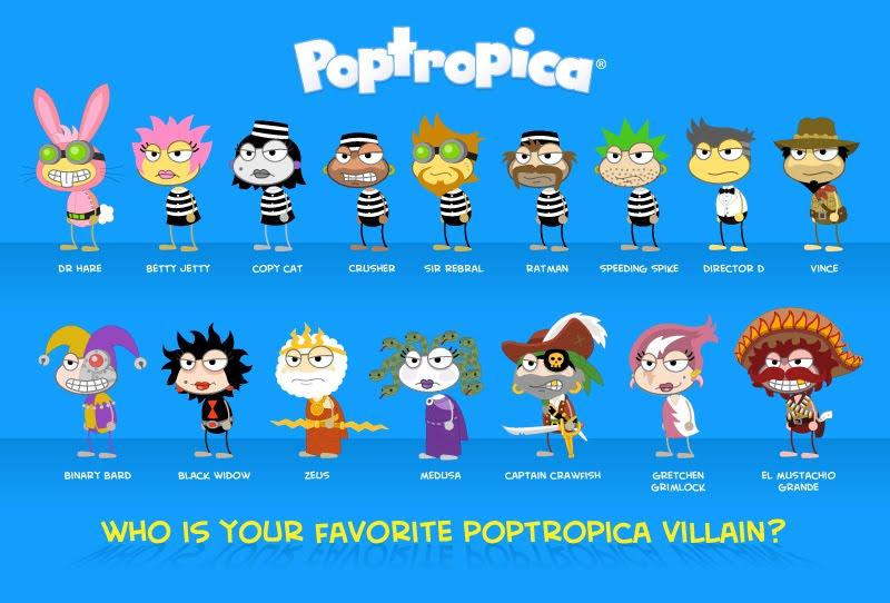 Poptropica Villains Icy Comet S Blog