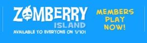 Zomberry Island COMES OUT FOR ALL ON JANUARY 10! MARK Y'ALL'S CALENDARS!